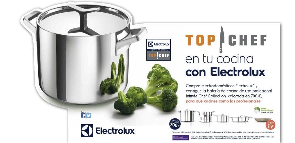 bateria electrolux top chef zaragoza
