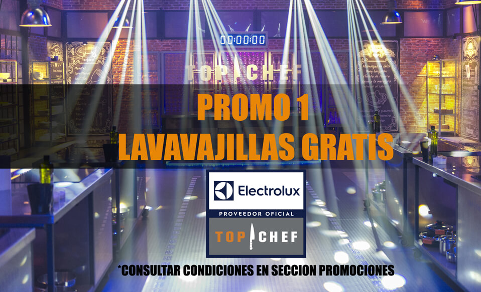 PROMOCIÓN 1: REGALO LAVAVAJILLAS ELECTROLUX