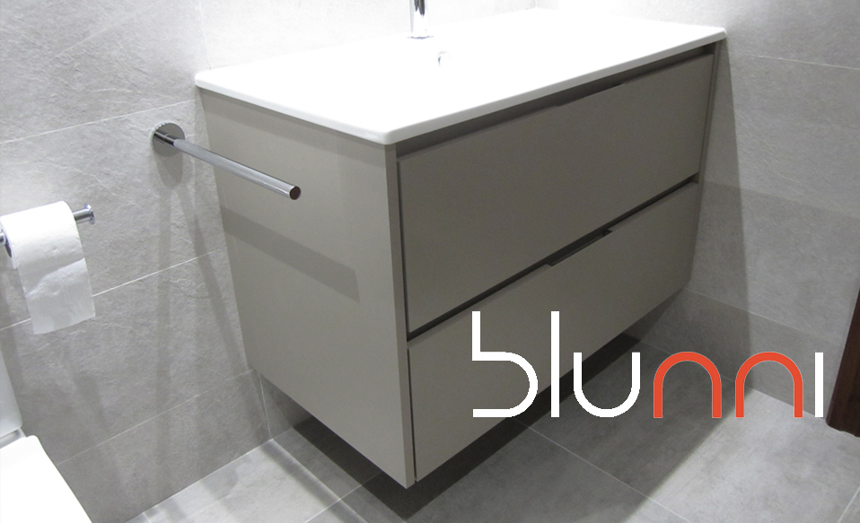 mueble de baño zaragoza gris