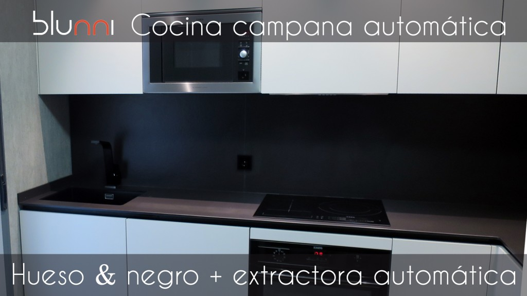 cocina campana automatica
