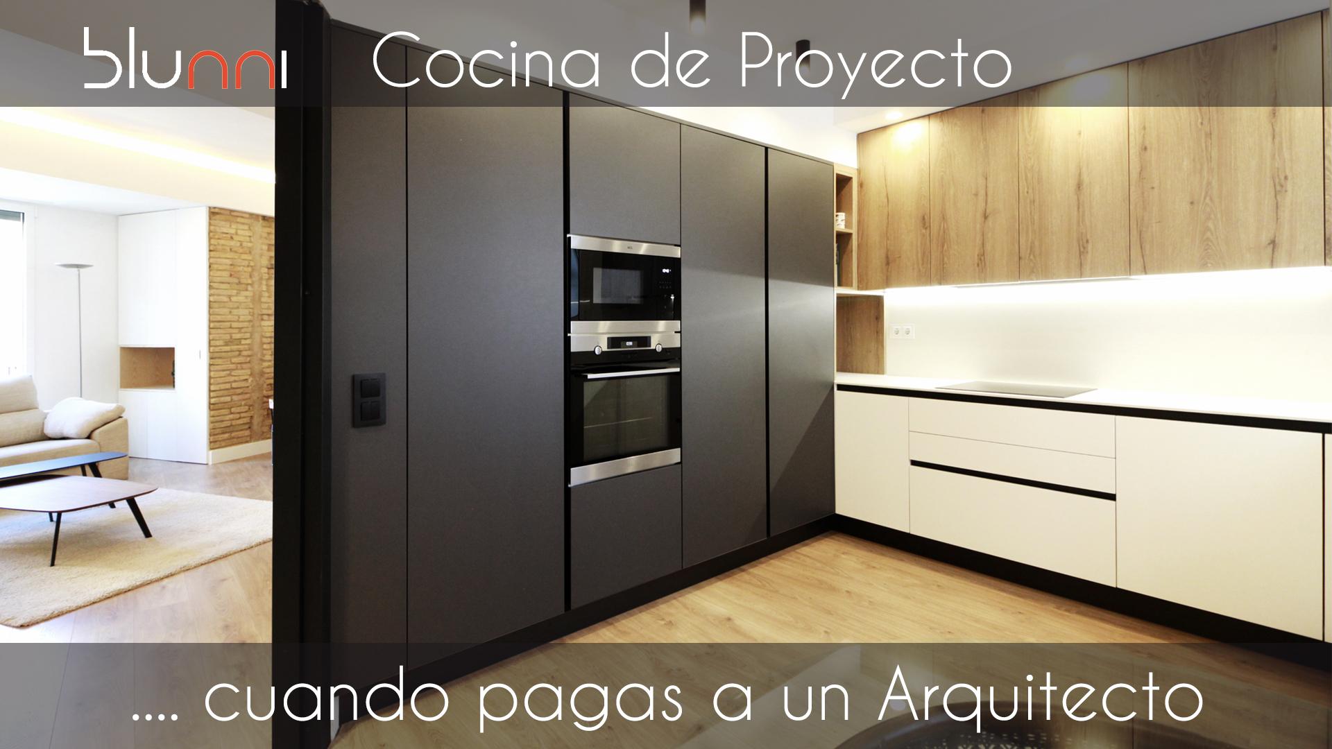 cocina de proyecto