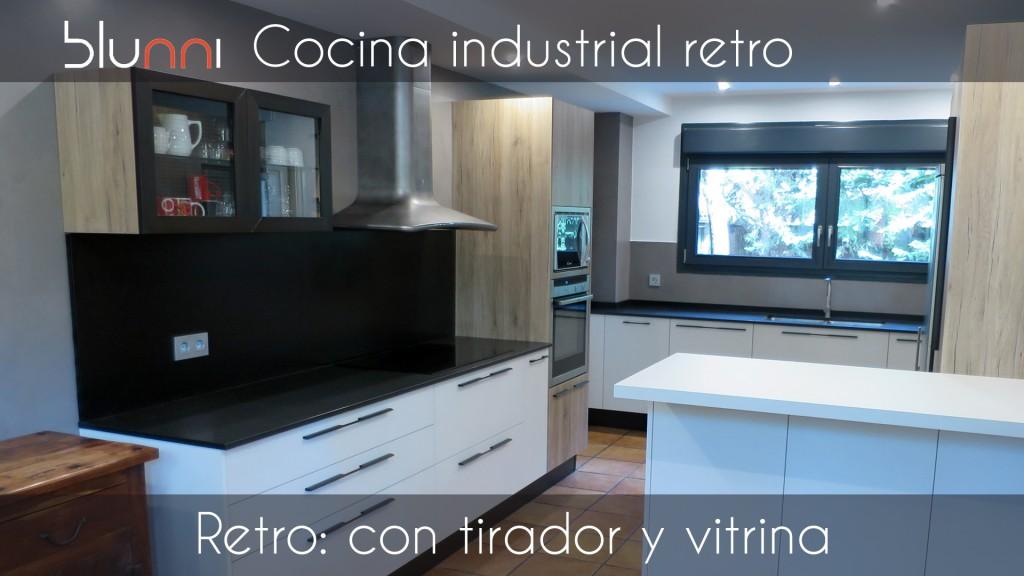 cocina industrial retro