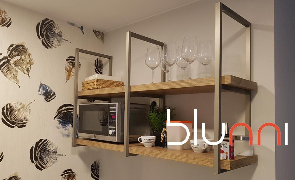 estanteria industrial cocina