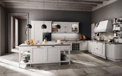 Tipos de cocinas de madera: inconvenientes y ventajas